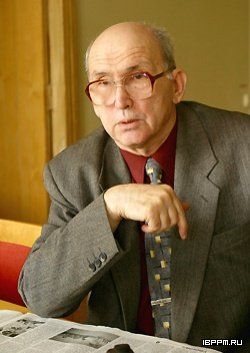 Заслуженный деятель науки РФ, доктор биологических наук, профессор Владимир Владимирович Игнатов