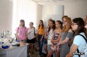 Ознакомительные экскурсии в ИБФРМ РАН для студентов Института химии СГУ в рамках учебной практики