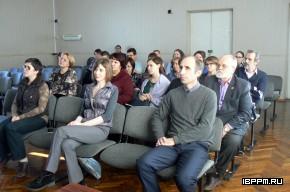 Участники научного заседания