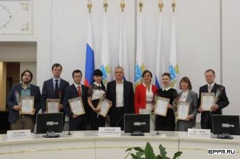 Вручение свидетельств о получении грантов Президента Российской Федерации