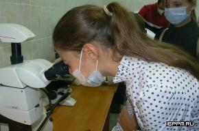 Ознакомительная экскурсия для учащихся «Лицея-интерната 64» в ИБФРМ РАН