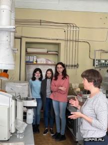 Ознакомительная экскурсия в ИБФРМ РАН для студентов Института химии СГУ