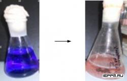 Рис. 17 - Обесцвечивание антрахинонового красителя (Acid Blue 62) грибом Pleurotus ostreatus